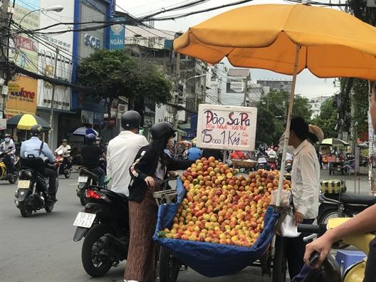 Dao Trung Quoc 'gan mac' Sapa ban la liet tai Sai Gon