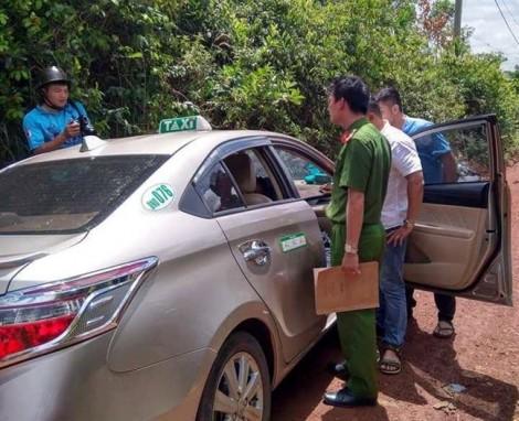 Tài xế taxi may mắn thoát thân sau khi bị tên cướp kề dao cướp tài sản