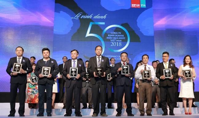 Tap doan Nam Long dat Top 50 cong ty kinh doanh hieu qua nhat Viet Nam 2018