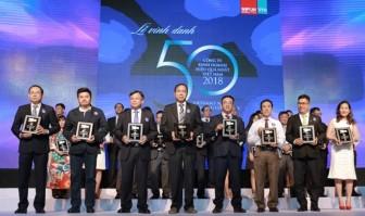 Tập đoàn Nam Long đạt Top 50 công ty kinh doanh hiệu quả nhất Việt Nam 2018