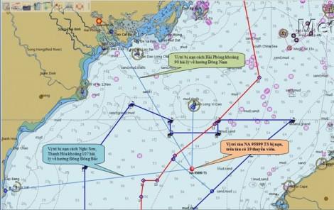 Người dân làng chài đếm từng phút ngóng chờ tin 9 ngư dân mất tích trên biển