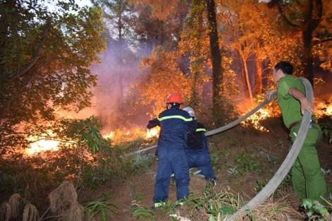 Một phụ nữ chết cháy khi mang nước tiếp tế lực lượng chữa cháy rừng