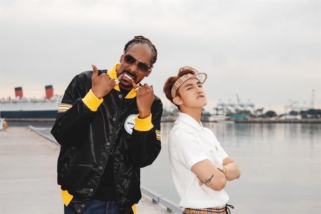 Huyen thoai rap Snoop Dogg xuat hien khong the nhat hon trong MV khung cua Son Tung M-TP