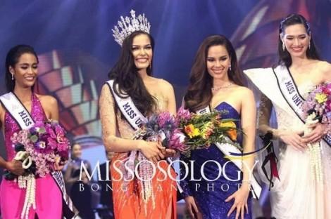 Thời trang sang chảnh của tân Hoa hậu Hoàn vũ Thái Lan