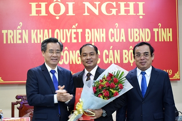 PGS.TS Tu Diep Cong Thanh lam Hieu truong Truong dai hoc Bac Lieu
