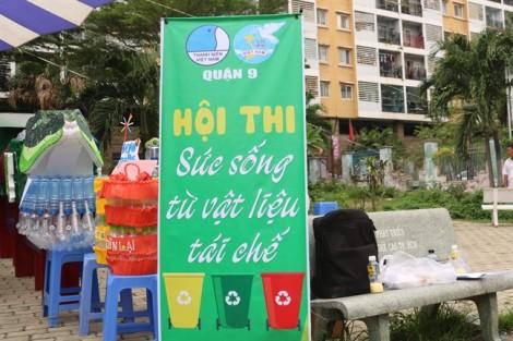 Phong phú những thùng rác đa năng được làm từ…rác