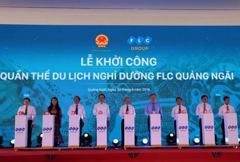 Chưa khởi công, FLC Quảng Ngãi đã rầm rộ rao nhận đặt cọc dự án