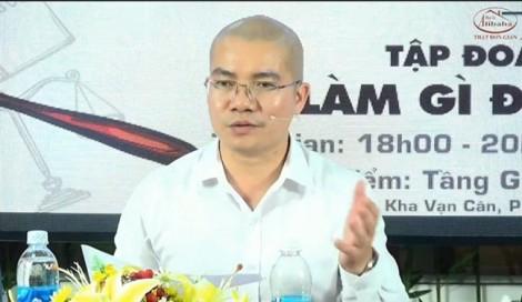 Công an triệu tập Chủ tịch HĐQT Công ty địa ốc Alibaba Nguyễn Thái Luyện