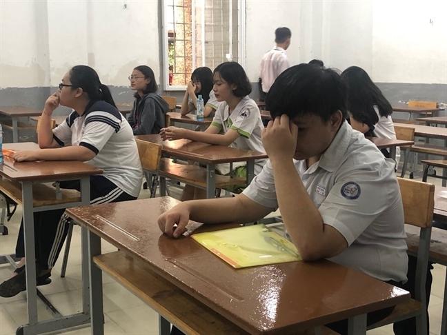 Cham thi THPT quoc gia 2019: TP.HCM khong co diem 10 mon van
