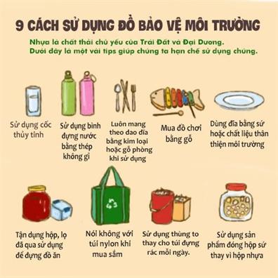 Bo thoi quen su dung hop xop, ly nhua dung mot lan: Kho cung phai lam!