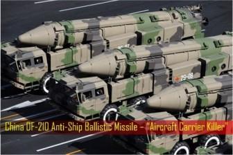 Việt Nam và Mỹ lên tiếng về việc Trung Quốc thử tên lửa ở biển Đông