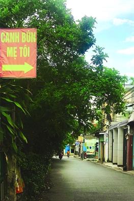 Canh bun duong ray hon 30 nam tuoi van niu chan nguoi phuong xa tim ve
