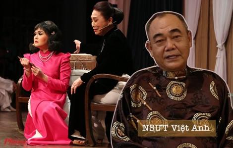 Clip: NSƯT Việt Anh nói về việc diễn viên trẻ vô lễ