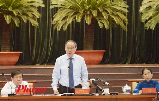 Ong Nguyen Thien Nhan yeu cau UBND TP.HCM tra loi cho dan Thu Thiem bang van ban ve ranh quy hoach