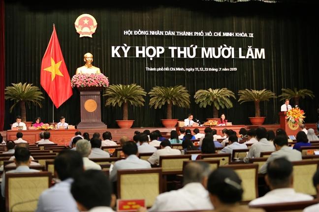 Ky hop thu 15 HDND TP.HCM khoa IX: Nong van de Thu Thiem