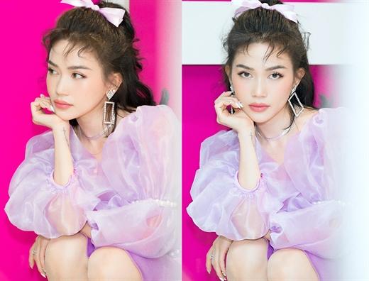 Si Thanh 'hack tuoi' voi hinh tuong cong chua ngot ngao