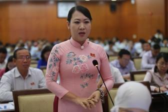 PGS.TS Phan Thị Hồng Xuân đề xuất mỗi nhà trang bị một lu nước để... chống ngập