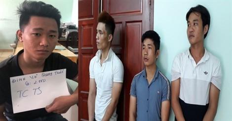 Bắt băng trộm đột nhập nhà trọ ở Sài Gòn lấy nhanh 9 xe máy trong đêm