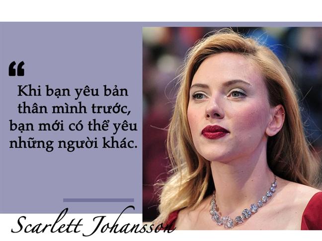 'Goa phu den' Scarlett Johansson: 'Do vo chi lam toi them manh me'