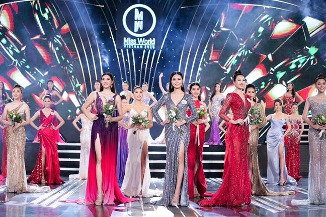 3 thi sinh 'Hoa hau The gioi Viet Nam 2019' dang ky hien tang