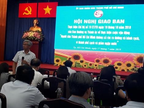 Phó chủ tịch UBND TP.HCM Võ Văn Hoan: 'Lên đọc báo cáo suông là không được đâu'