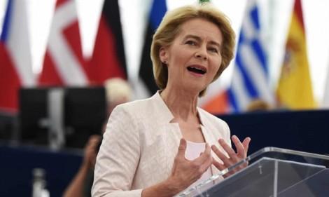 'Hôm nay, châu Âu mang khuôn mặt của bà - khuôn mặt của sự cam kết, tham vọng và tiến bộ'