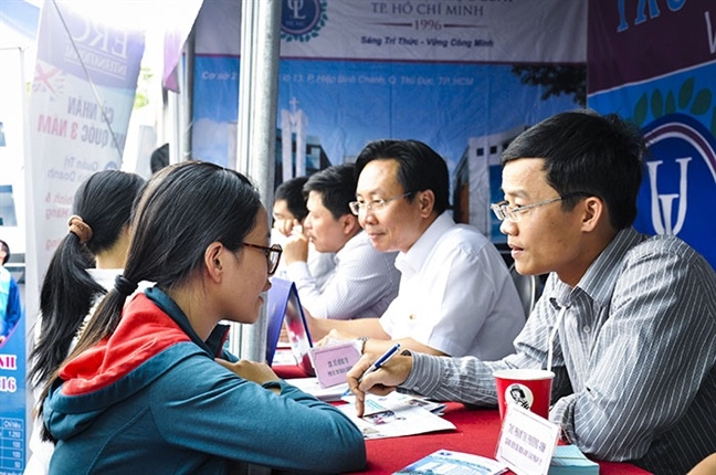 Truong dai hoc Luat TP.HCM: 3.799 thi sinh du 'diem san' vuot qua vong so loai