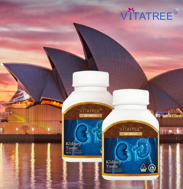 Vien uong bo than Vitatree Kidney Tonic