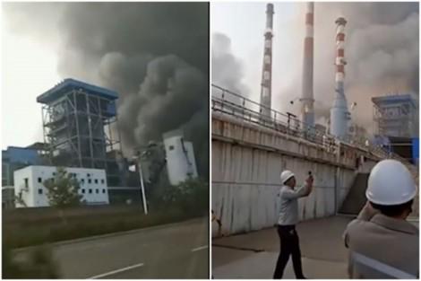 Nổ lớn tại nhà máy khí đốt ở Trung Quốc, chưa rõ số người thương vong