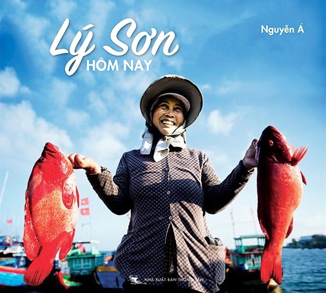 Nu cuoi tren dao Ly Son
