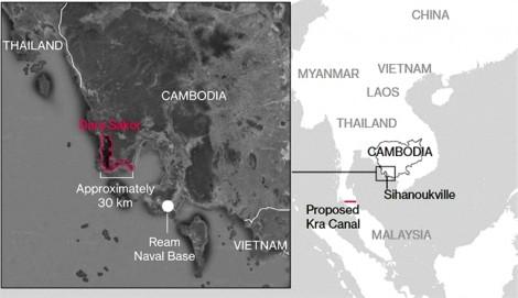 Khu nghỉ mát Dara Sakor có thể thành căn cứ  quân sự của Trung Quốc  tại Campuchia