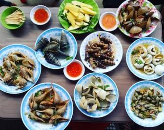 Lạc lối trong thiên đường ốc chỉ từ 10.000 đồng ở Quy Nhơn