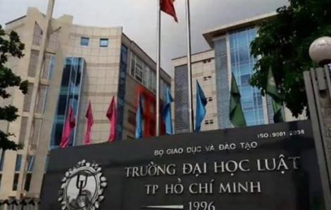 Nóng: 2.537 thí sinh trúng tuyển vào Trường đại học Luật TP.HCM