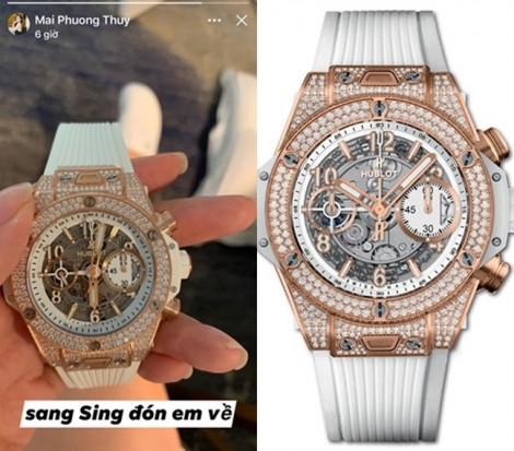 Thú vui sắm đồng hồ tiền tỷ xa xỉ của Mai Phương Thúy