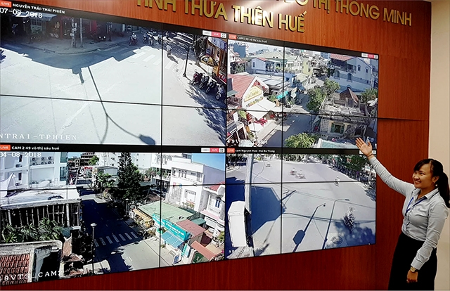 Thua Thien Hue chinh thuc van hanh 'mat than' giam sat do thi