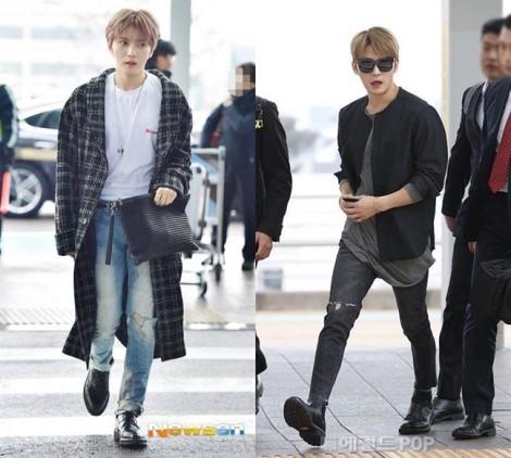 Thời trang đơn giản mà cực 'chất' của Kim Jae Joong