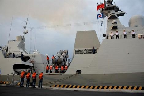 Tàu hộ vệ tên lửa 016 – Quang Trung: Thăm Nga và kết hợp diễn tập trên biển