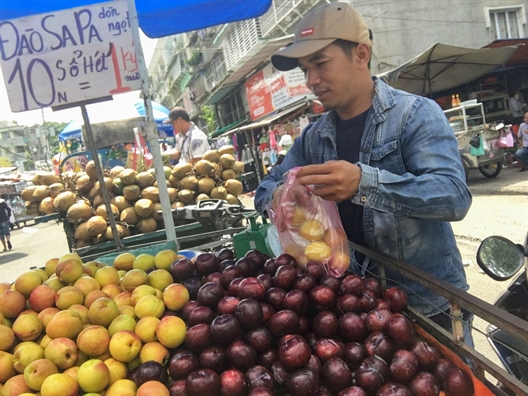 Tuong man Ha Noi, nguoi Sai Gon an gan 100 tan man Trung Quoc moi ngay