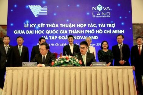 Novaland tài trợ 10 tỷ đồng cho Quỹ phát triển Đại học Quốc gia TP.HCM