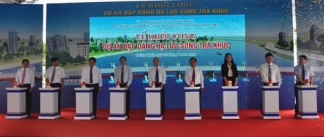 Dự án đập dâng hạ lưu sông Trà Khúc: khởi công rồi mới họp báo phản biện?