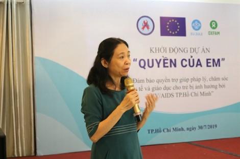 TP.HCM: Đảm bảo quyền chăm sóc y tế và giáo dục cho trẻ bị ảnh hưởng bởi HIV/AIDS