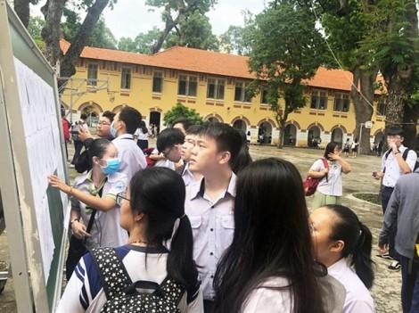 Thanh tra 4 trường đại học công bố điểm sàn thấp