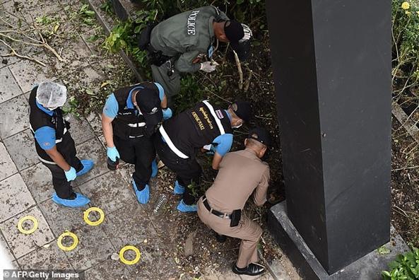 Bangkok trong tinh trang canh giac cao sau hang loat vu no bom vao sang thu Sau