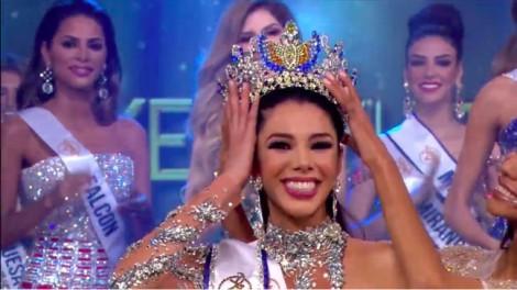 Nhan sắc của cô gái 19 tuổi vừa đăng quang Hoa hậu Venezuela