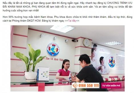 Phòng khám Trung Quốc bị đóng cửa 4,5 tháng do khám bệnh vượt quá chuyên môn