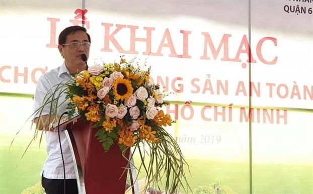 'Cho phien nong san an toan' ve chung cu