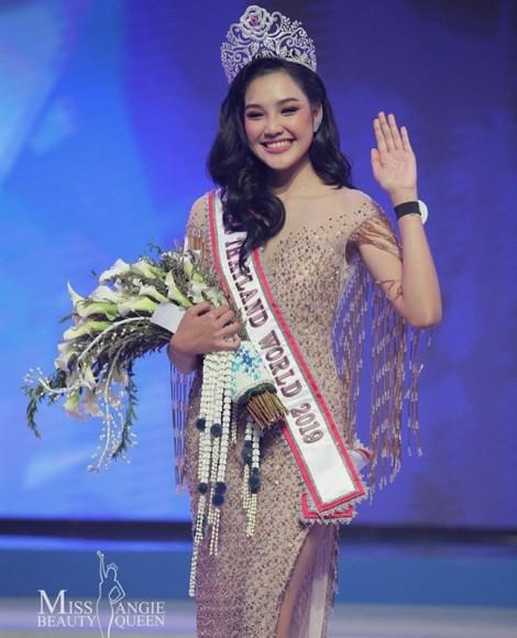 Nhan sắc quyến rũ của Hoa hậu Thế giới Thái Lan 2019