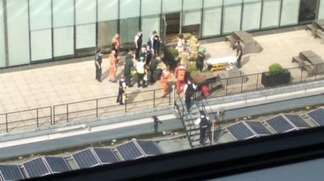 Cậu bé 6 tuổi bị ném xuống từ tầng 10 phòng tranh ở London