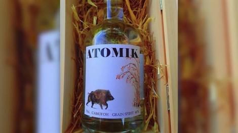 Rượu 'Atomik' hấp dẫn vì lấy nguyên liệu từ Chernobyl