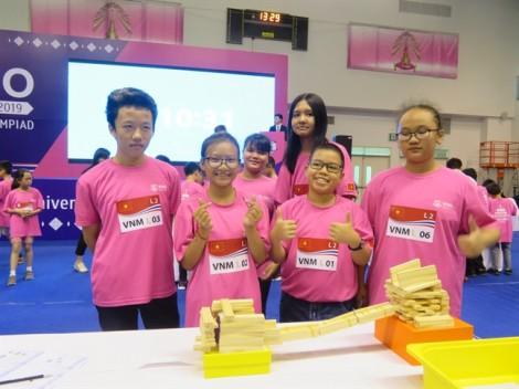 Việt Nam đoạt 12 huy chương bạc, đồng tại cuộc thi Toán tổng hợp thế giới